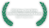 2010 New York State Pay for Performance Award Best Improver